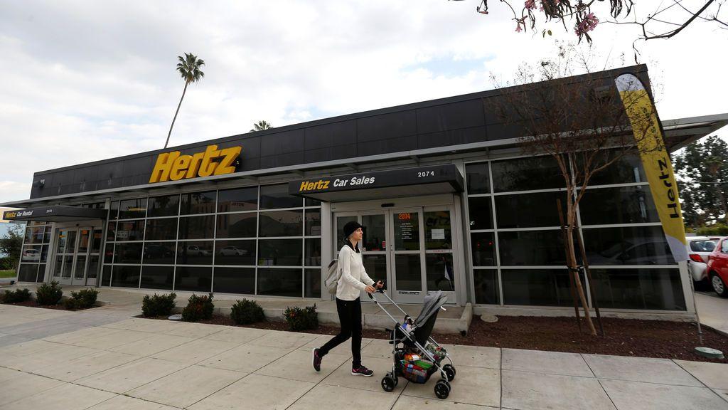 La empresa de alquiler de coches Hertz se declara en bancarrota en EE.UU.  y Canadá