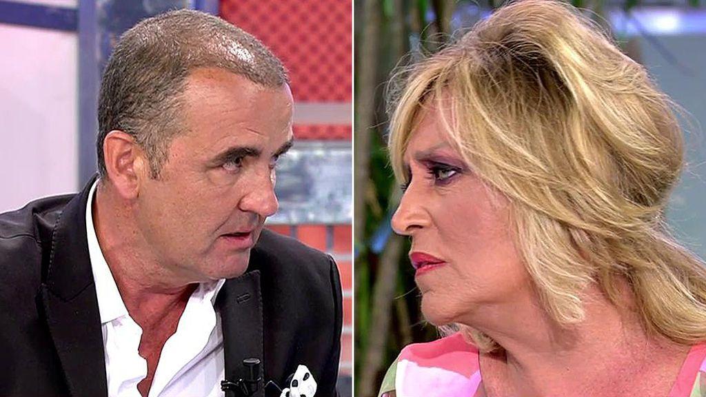 Lydia Lozano estalla contra Antonio Montero