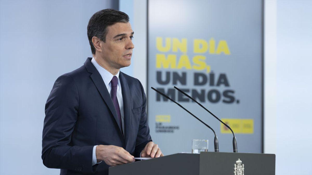 """Sánchez anuncia luto oficial de 10 días, el """"más prolongado de la historia de la democracia"""""""