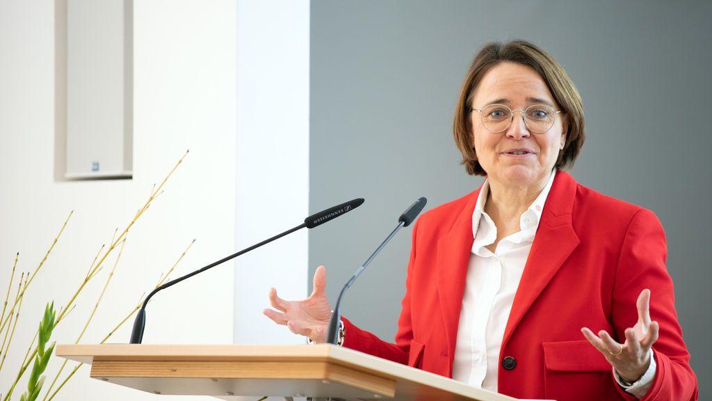 La delegada de Integración del Gobierno alemán, Annette Widmann-Mauz