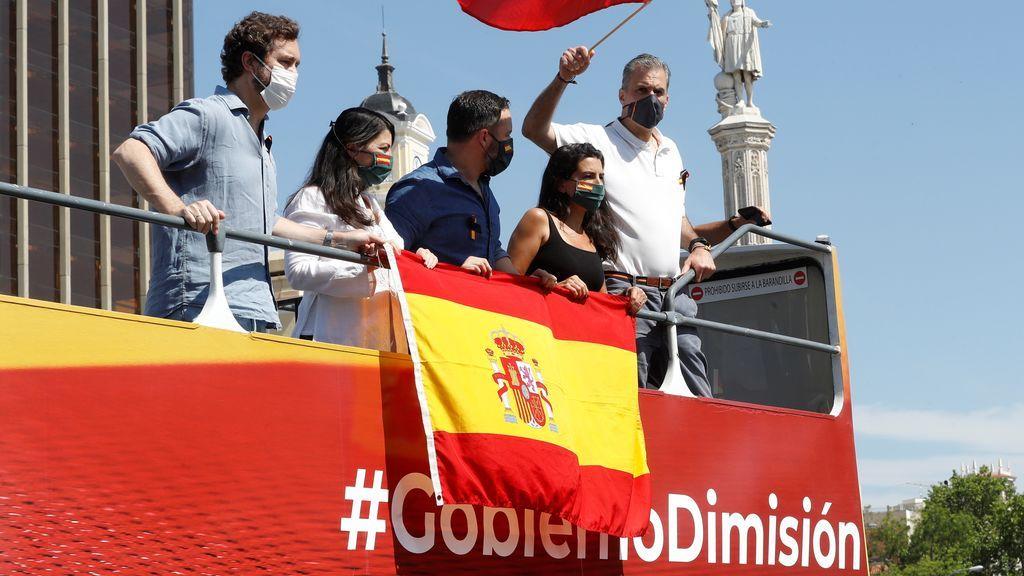 Espinosa de los Monteros por compara la manifestación de Vox con la celebración por el Mundial de Fútbol