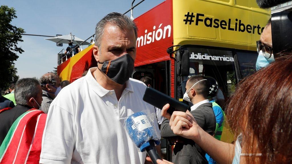 Manifestaciones en toda España convocadas por Vox contra la gestión del Gobierno en la crisis del coronavirus