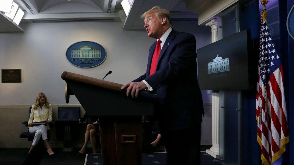 """Trump asegura que China podría haber parado el coronavirus """"si hubiese querido"""""""