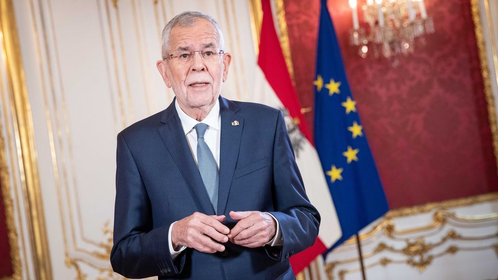 El presidente de Austria, Alexander Van der Bellen