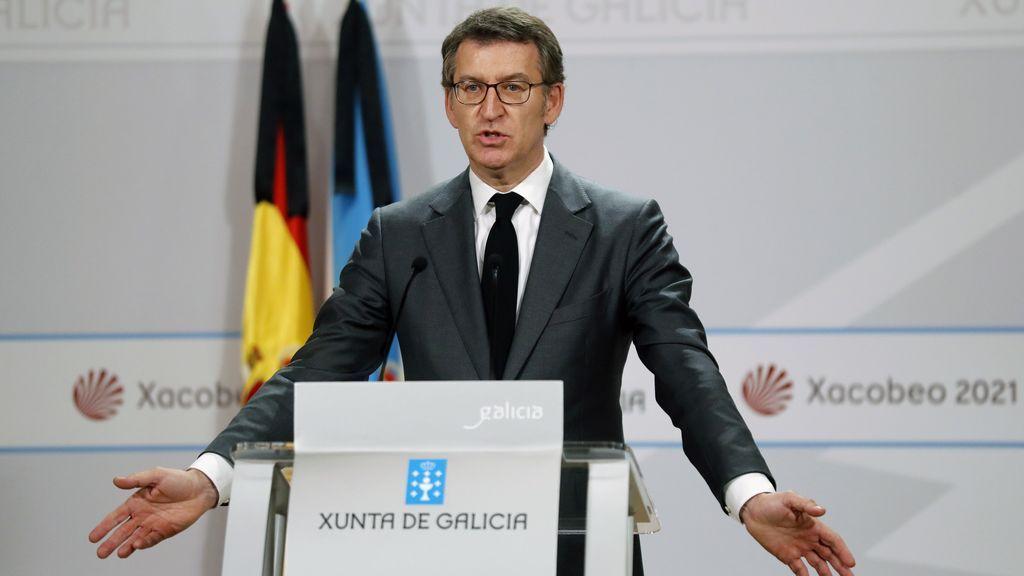 Feijóo pide que Galicia salga del estado de alarma al finalizar la fase dos