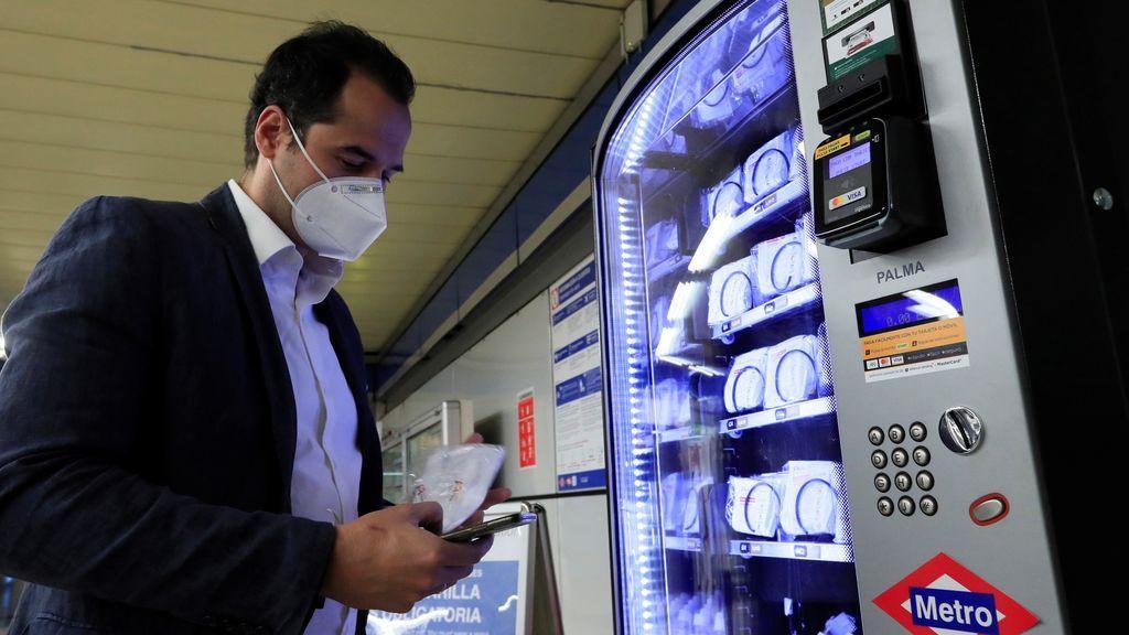 Aguado máquinas expendedoras metro