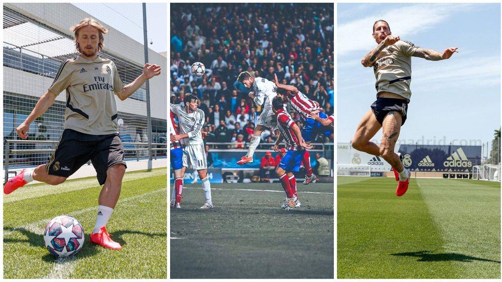 'La Décima' cumple seis años y Ramos y Modric recrean el córner que llevó a la gloria al Real Madrid
