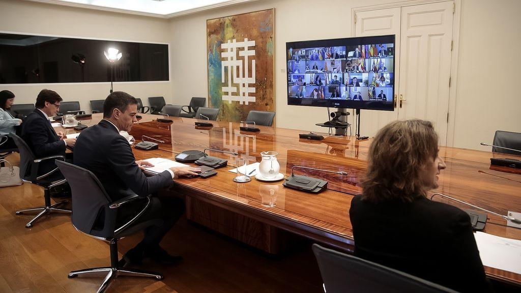 Urkullu, Moreno y Feijóo piden a Sánchez el fin de las reuniones de los domingos y que cree un formato más útil