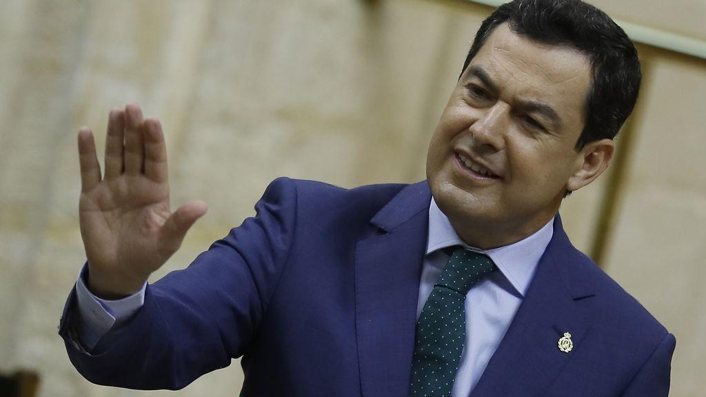 """Moreno denuncia un """"trato desigual"""" del Gobierno que perjudica a Andalucía frente a otras comunidades autónomas"""
