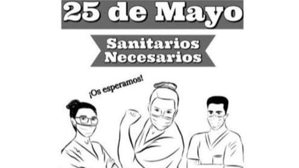 Sanitarios de varios hospitales madrileños convocan una protesta el 25 de mayo a las 20 horas