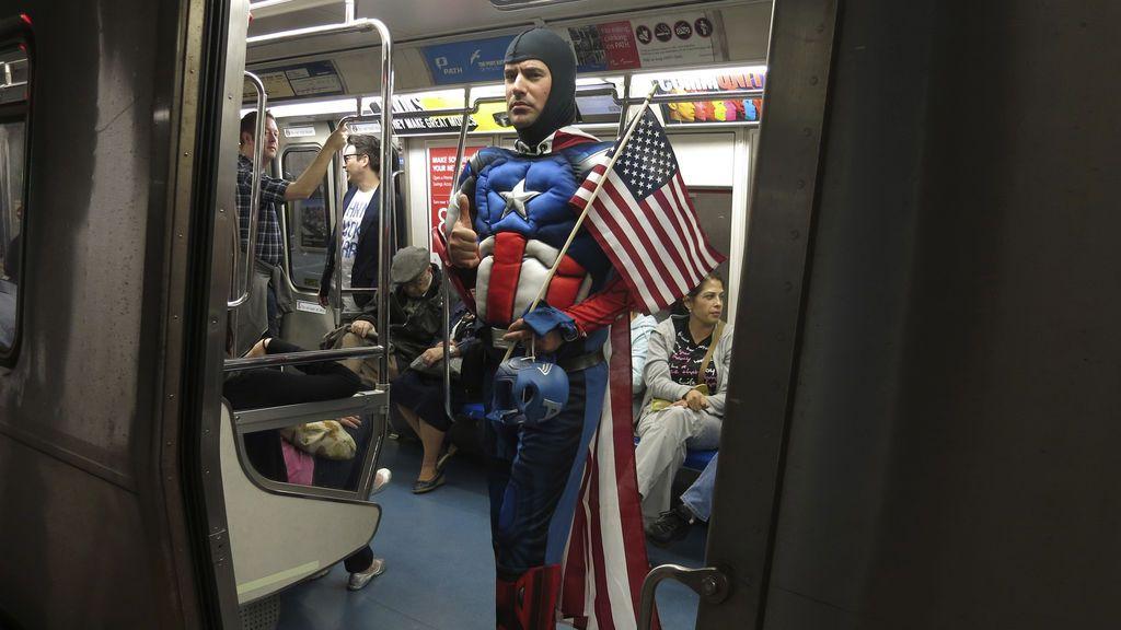 El metro de Nueva York ataca al COVID-19 con luz ultravioleta