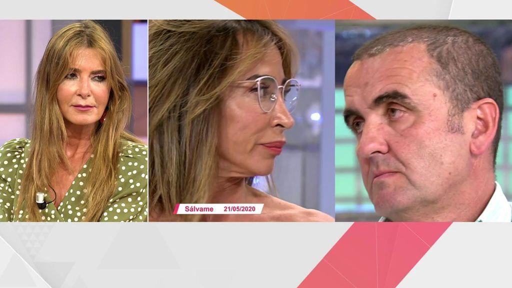 Marisa Martín Blázquez saca la cara por su exmarido, Antonio Montero, y lanza una pulla a María Patiño