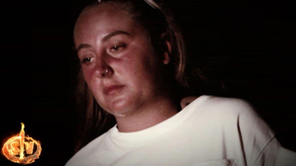 """Rocío se libera en la ceremonia del fuego con un propósito sobre su familia a su vuelta de Honduras: """"Basta de guerras"""""""