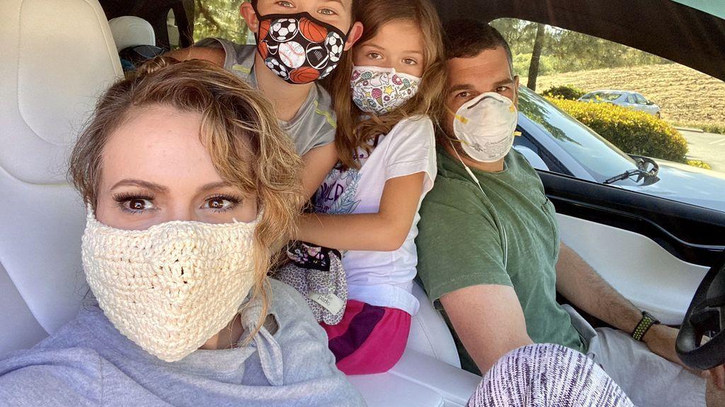 La mascarilla 'contra el coronavirus' de la actriz Alyssa Milano se convierte en tendencia en las redes sociales