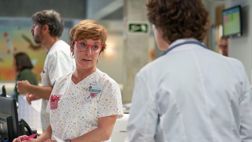 Vicky, el ángel de la guarda del Hospital Universitario Los Arcos.