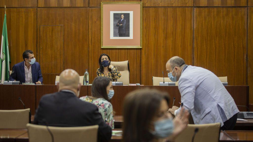 Constitución de la Comisión para la recuperación económica y social de Andalucía