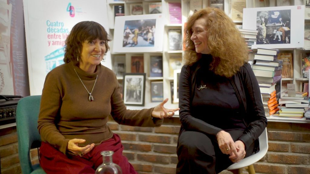 Rosa Montero y Larumbe, cara a cara