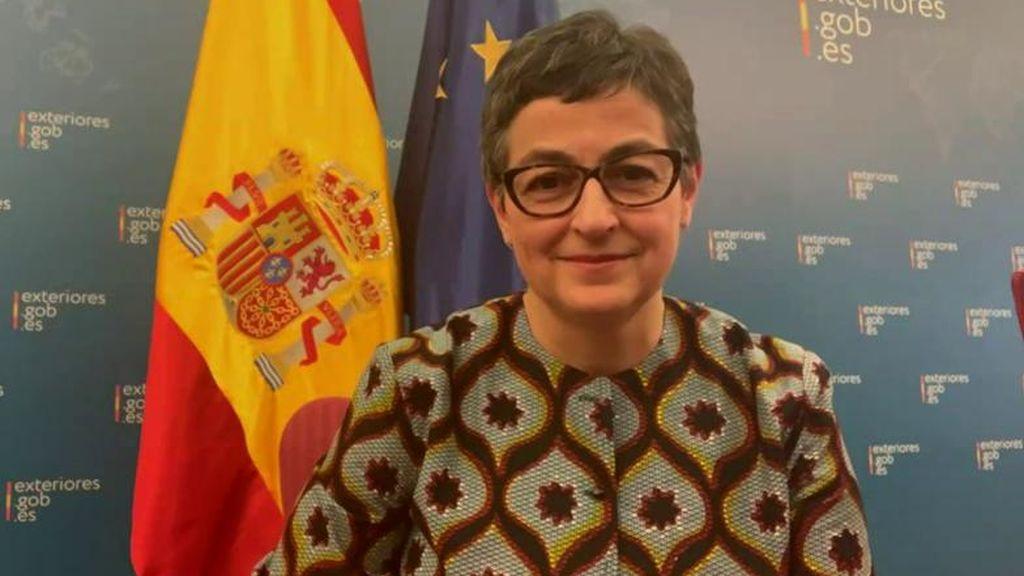 """González Laya, ministra de Exteriores: """"España es un lugar seguro para el turismo"""""""
