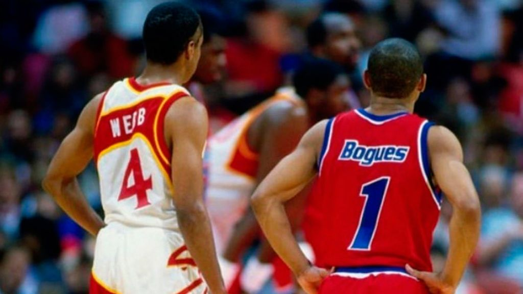 Los jugadores más bajitos en la historia de la NBA