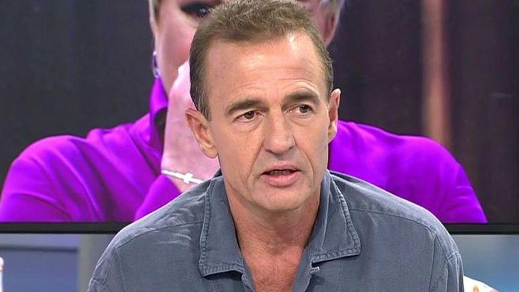 Borja Palacios, cuñado de Alessandro Lequio, padece una enfermedad grave