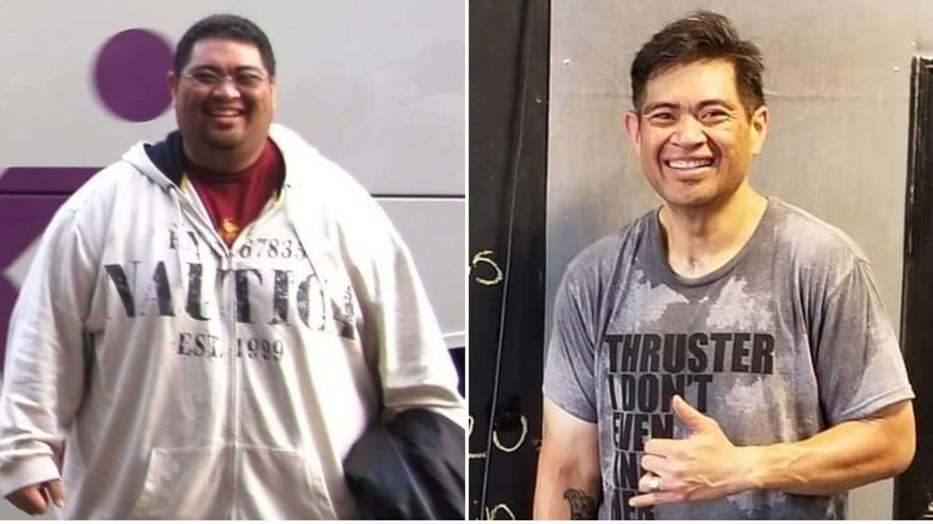 Un chico pierde 200 kilos gracias al crossfit y al apoyo de sus compañeros de entrenamiento