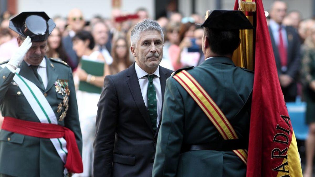 Fernando Grande-Marlaska en un acto de la Guardia Civil