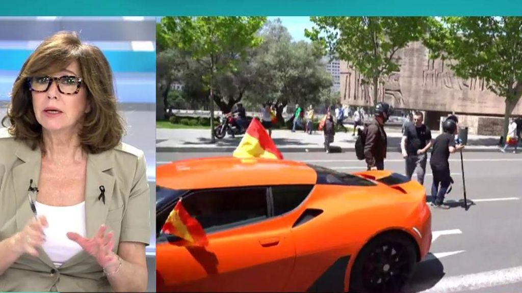 Ana Rosa Quintana critica a algunos de los manifestantes de VOX
