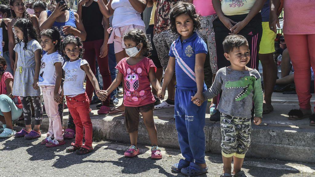 La UE anuncia 144 millones de euros para migrantes venezolanos