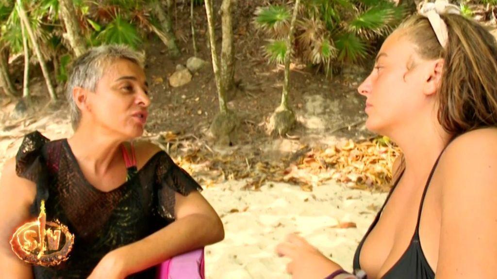 """Rocío y Ana María se dicen todo lo que no se habían dicho antes: """"No he entendido muchas posturas que has tenido"""""""