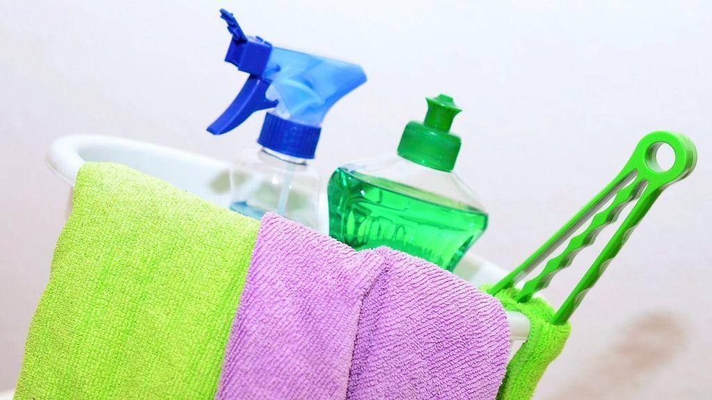 Los principales riesgos para la salud del uso de productos de limpieza