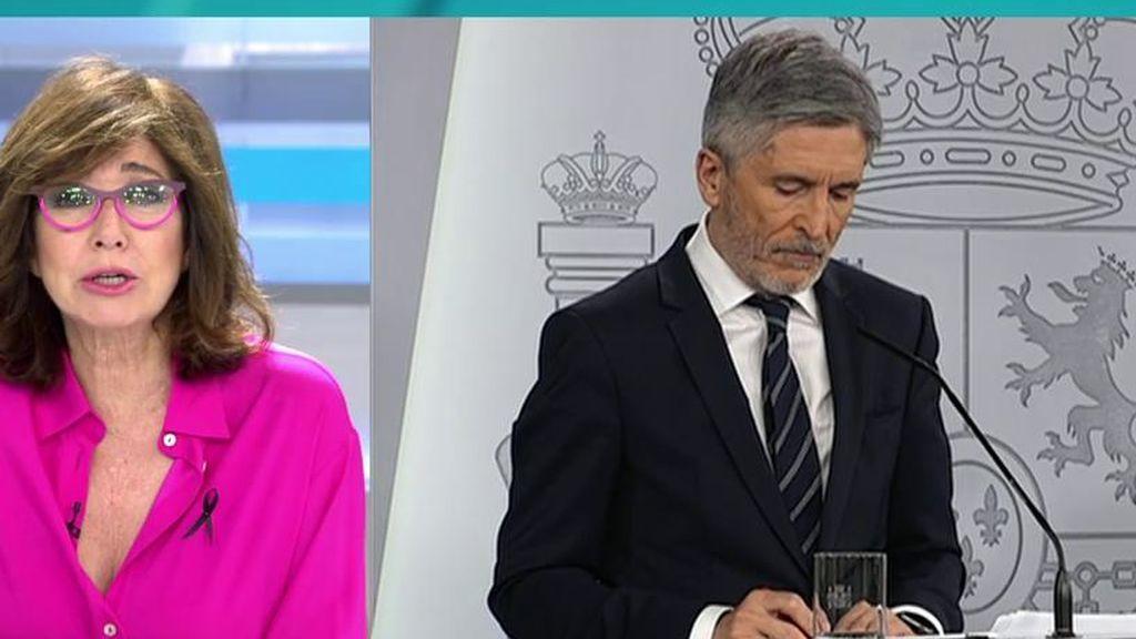 """Ana Rosa, tras el cese de Pérez de los Cobos: """"Es paradójico que el finiquito a la separación de poderes venga del que  fue un juez de prestigio"""""""