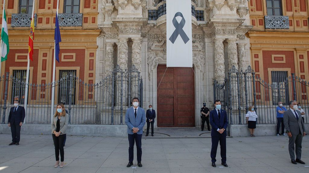 Junta de Andalucía, en el Palacio de San Telmo (Sevilla)