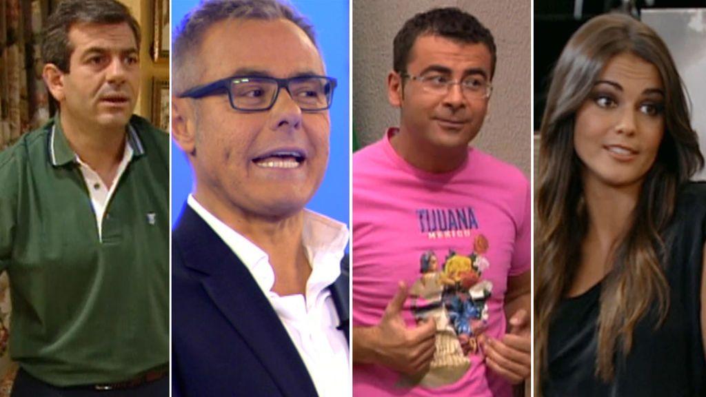Presentadores de 'Supervivientes' en series de Telecinco
