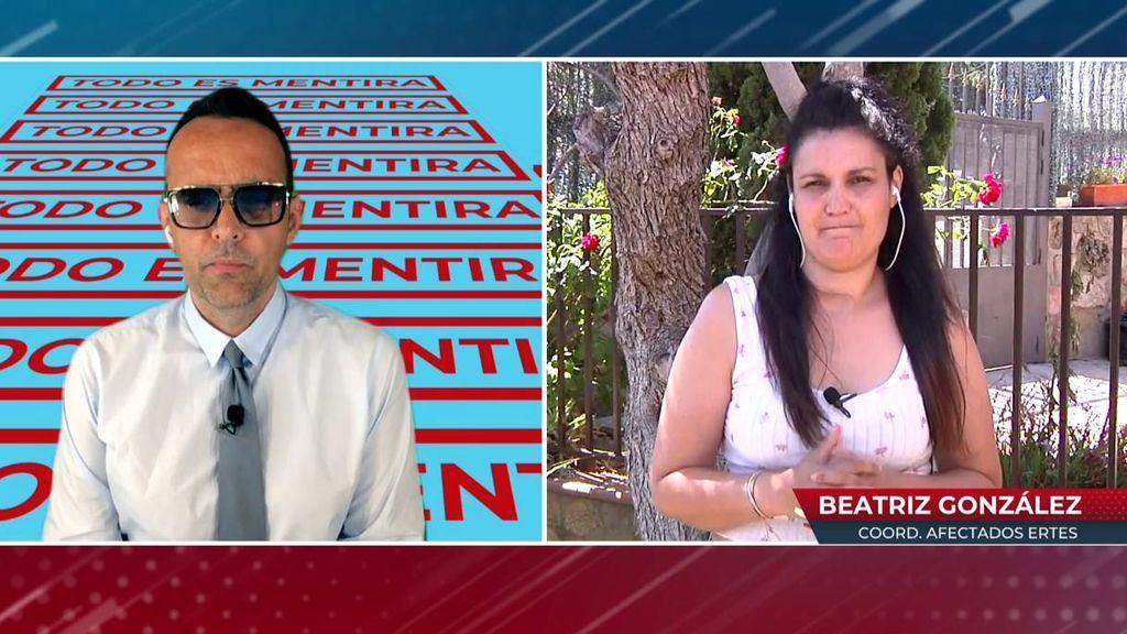 """Beatriz González, coordinadora afectados ERTE en Madrid: """"Estamos frustrados, cansados y cabreados"""""""