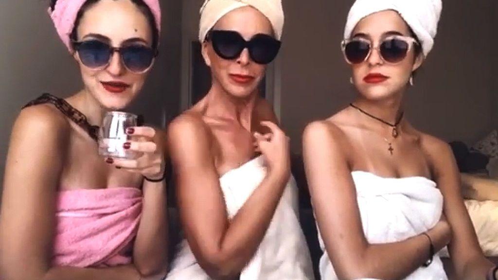 """Lydia Bosch y su 'descuido' en el reencuentro con sus hijas: desparpajo, reflejos y """"no tirar la toalla"""" a los 56"""