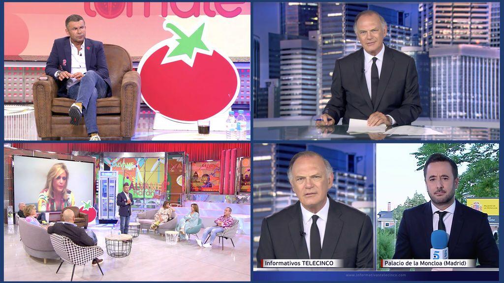 'Sálvame Tomate', con la mayor ventaja sobre 'Pasapalabra', e Informativos Telecinco 21:00, con su segundo mejor share anual, líderes absolutos de sus franjas de emisión