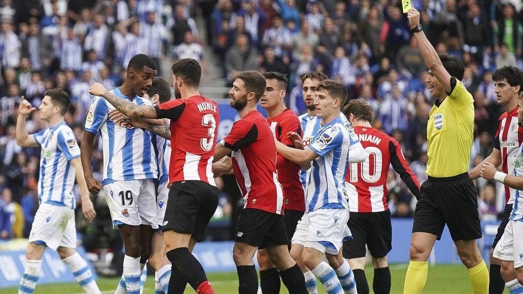 Partido de Liga entre Athletic y Real Sociedad