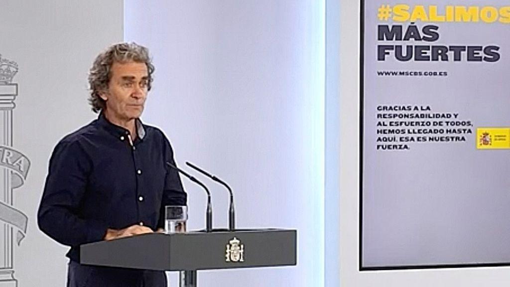 Simón aclara que no hay rebrotes en España y pide prudencia