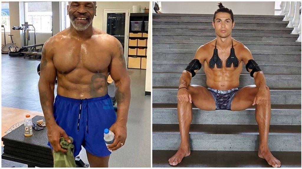 Tyson copia los tratamientos y la dieta de Cristiano Ronaldo para volver al ring a los 54 años