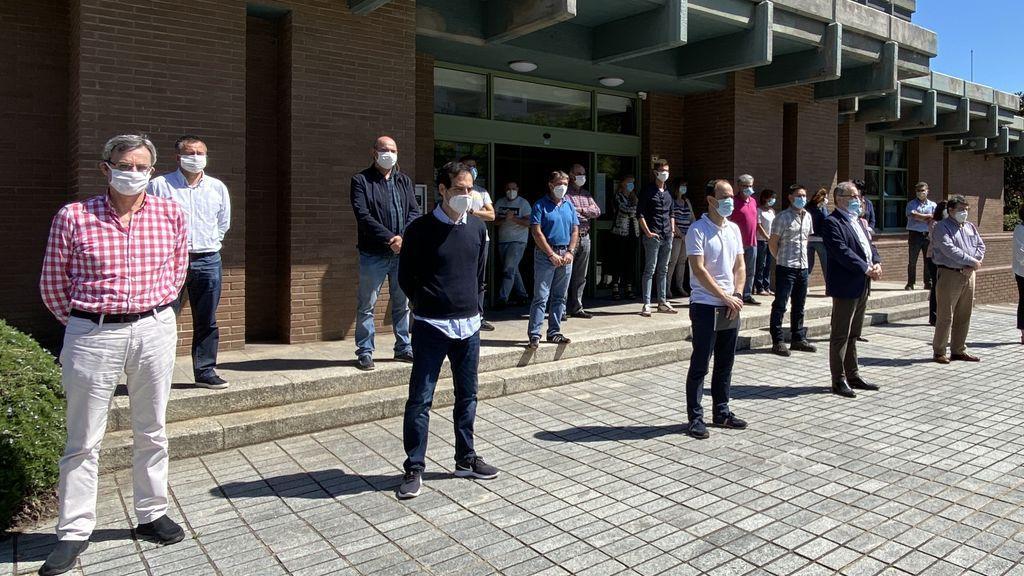 La Universidad de Cantabria también ha honrado un minuto a las víctimas del COVI-19