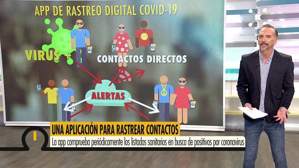 Cómo funciona la app de rastreo contra el coronavirus