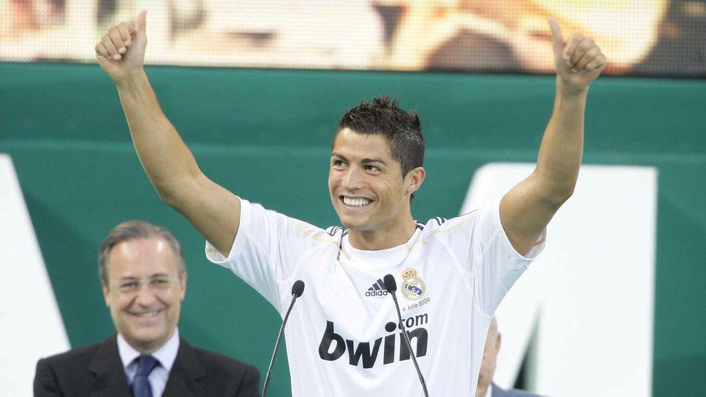 Cristiano fichó por el Real Madrid en el año 2009.
