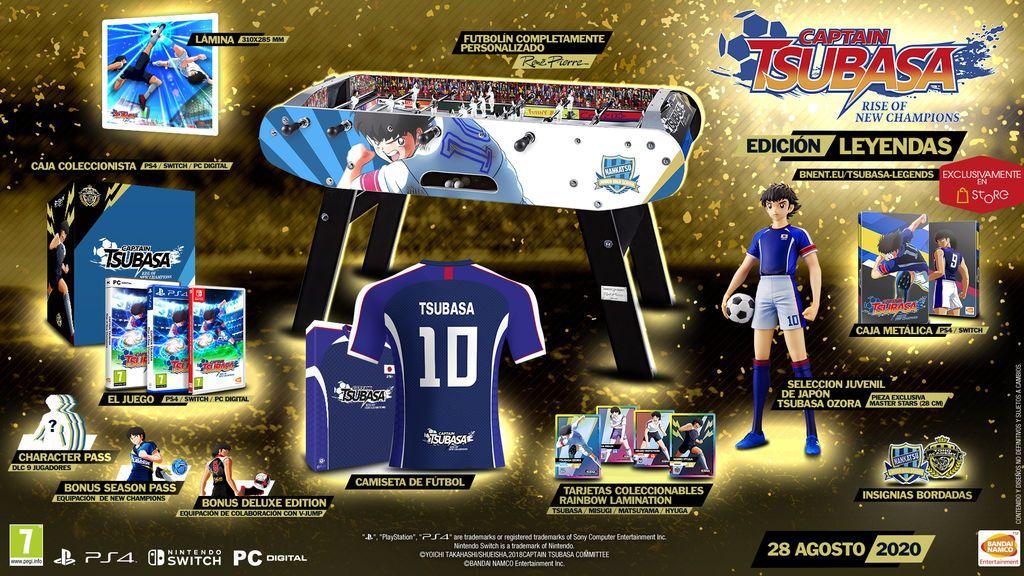 Captain Tsubasa: Rise of New Champions edición Leyendas