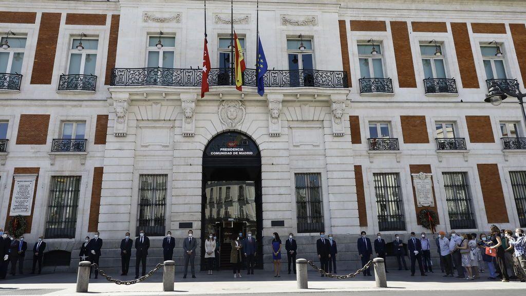 El Gobierno de la Comunidad de Madrid, en la Puerta del Sol