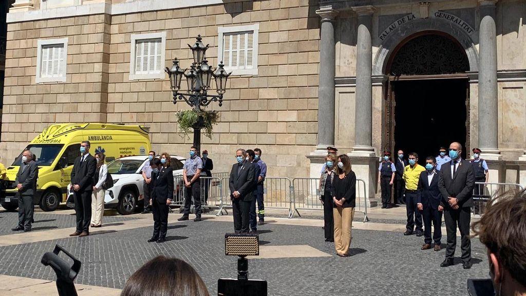 El Govern de la Generalitat catalana, con Quim Torra al frente