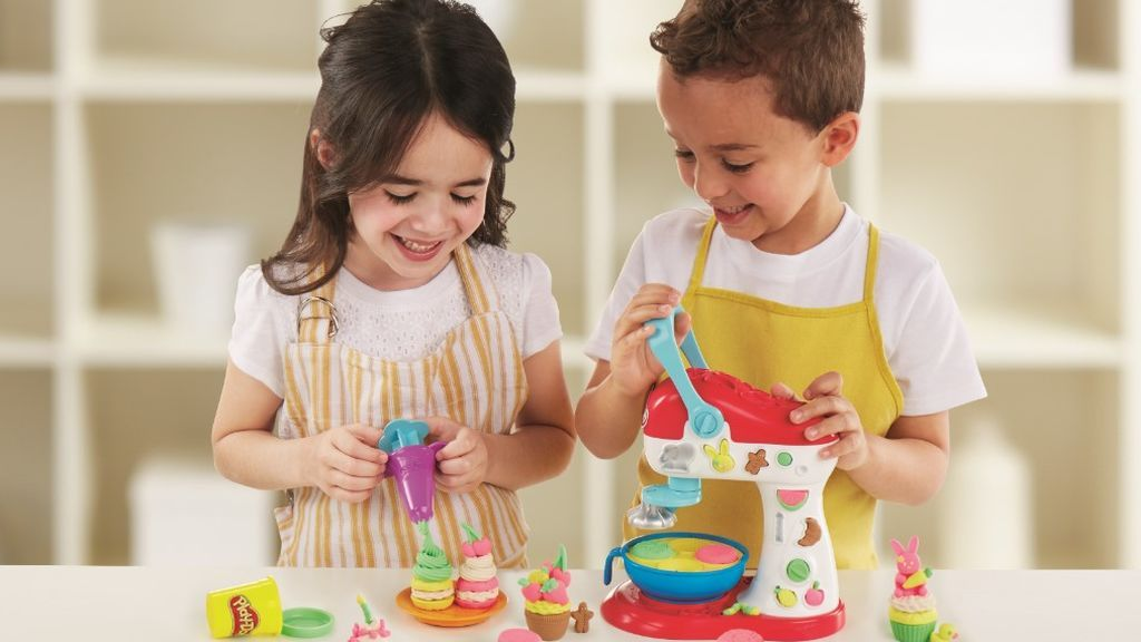 La cocina creativa de Play-Doh: tu creación más original puede hacerte conseguir un lote de productos