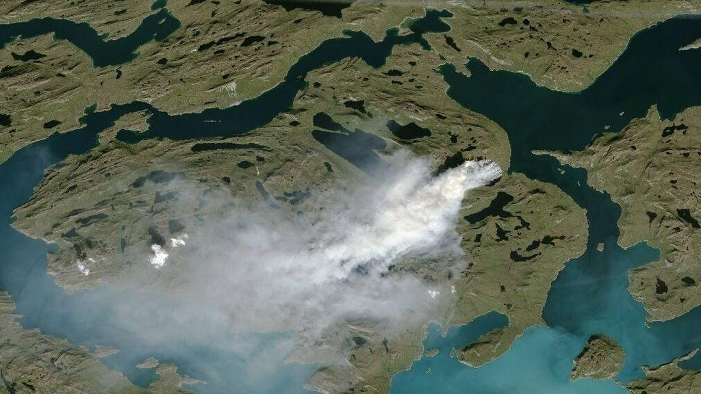 Científicos empiezan a detectar incendios 'zombis' en el Ártico