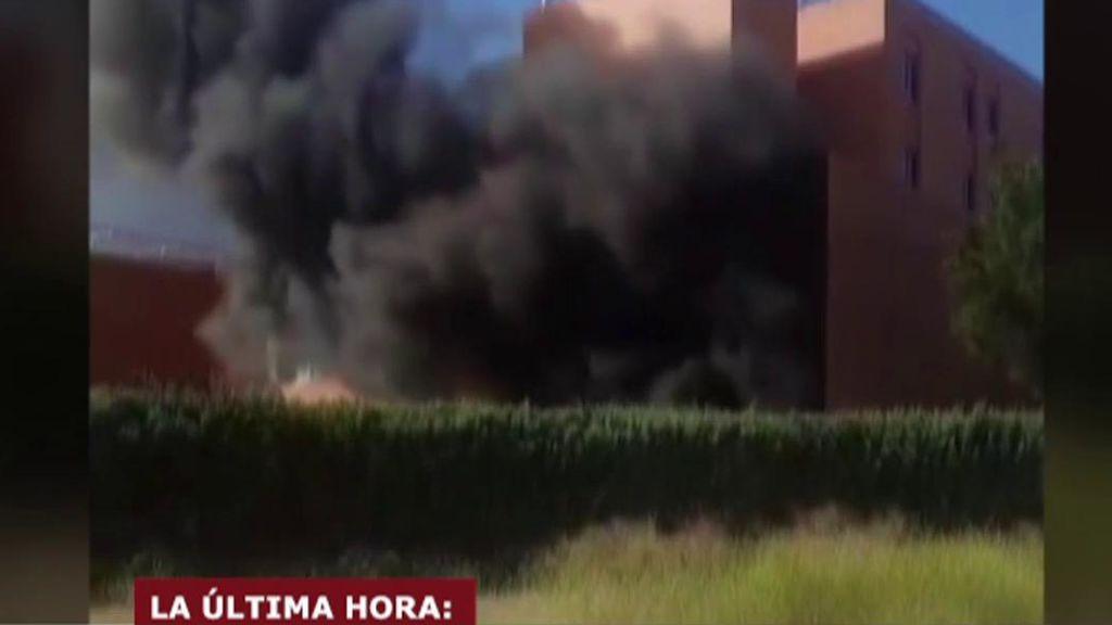 Evacuado incendio de Hellín