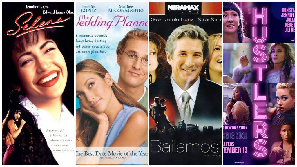 Estas son las mejores películas de Jennifer López.