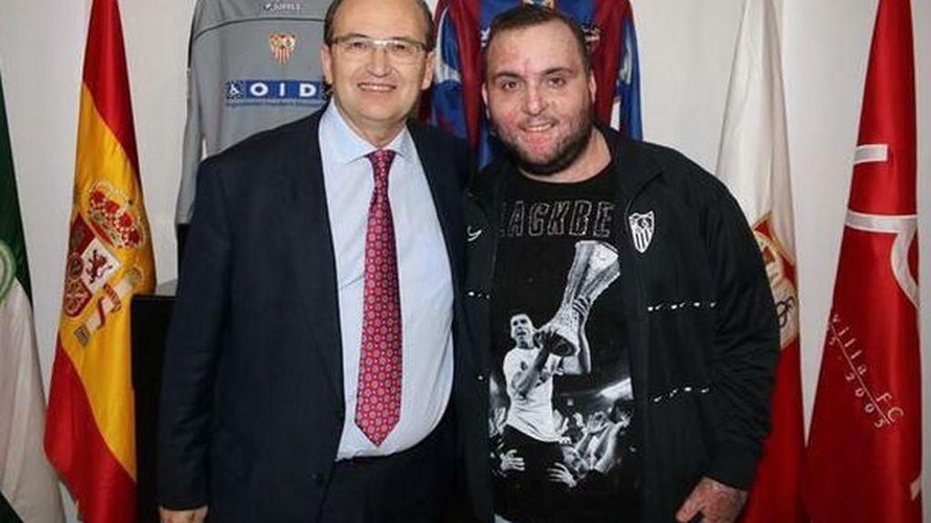 primo de Reyes junto a Pepe Castro